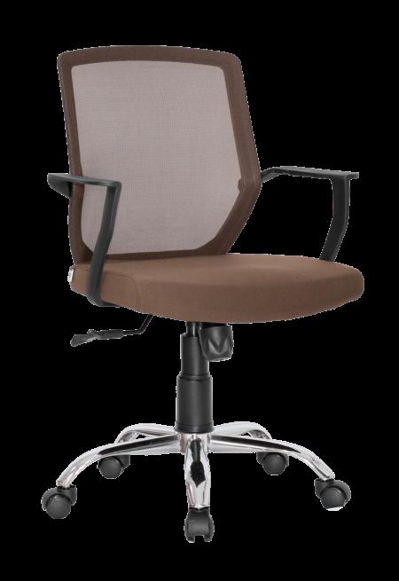 jainy-ergonomic-medium-back-chair-brown-color