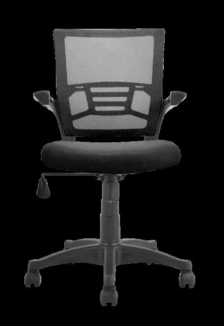 mini-ergonomic-medium-back-chair-black-color