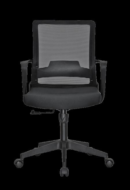 viky-ergonomic-medium-back-chair-black-color